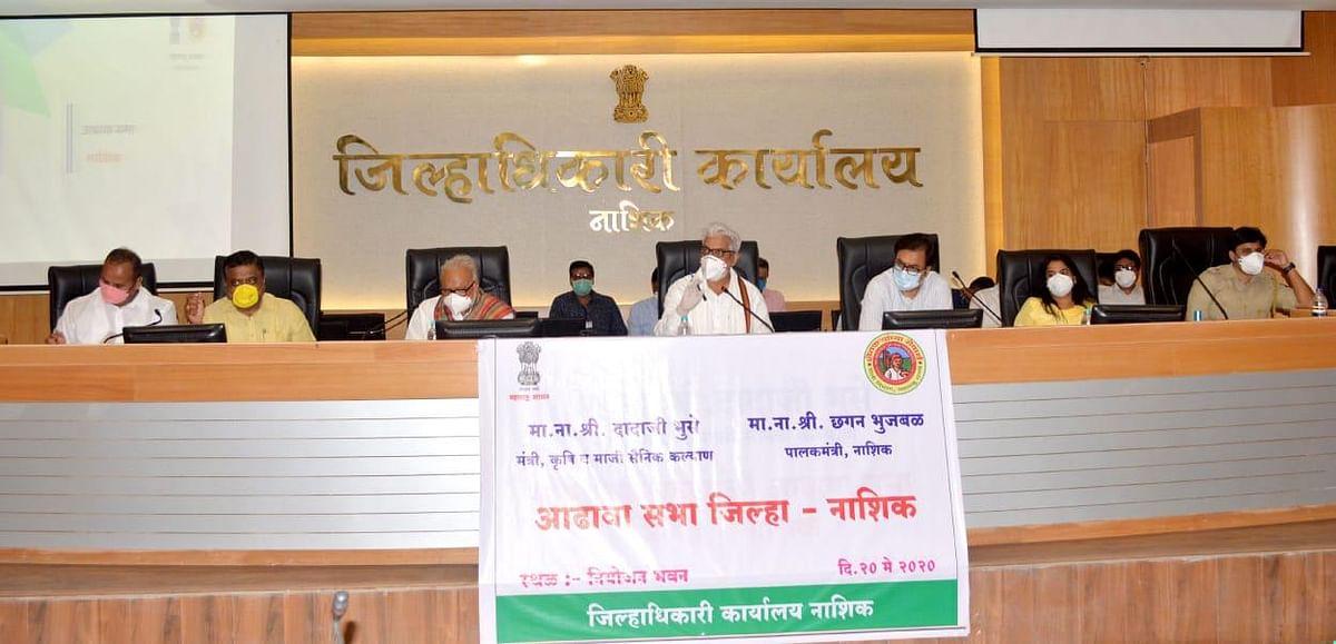 राज्यात शेतीसाठी खते; बियाणे व पिक कर्ज थेट उपलब्ध करुन देणार – कृषीमंत्री दादाजी भुसे