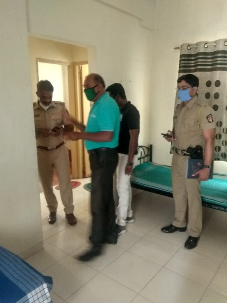 Quarantine facility for police personnel at Met BKC, Adgaon