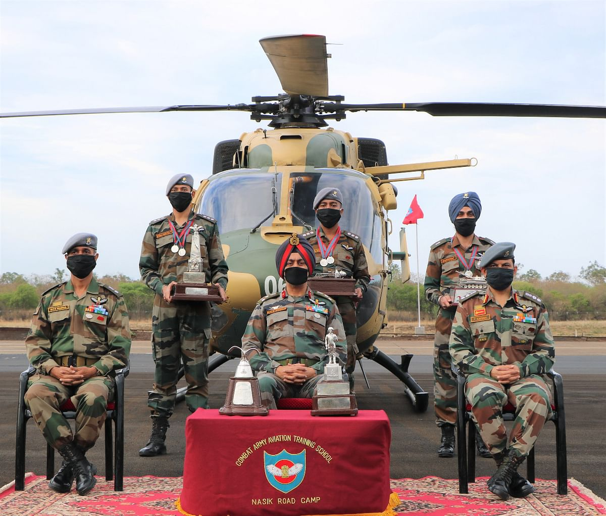 45 army officers get Aviation Wings at CATS