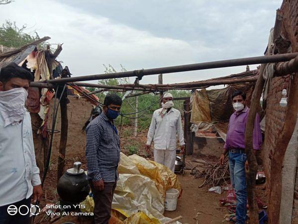 संगमनेर : 531 कच्ची घरे कोसळली
