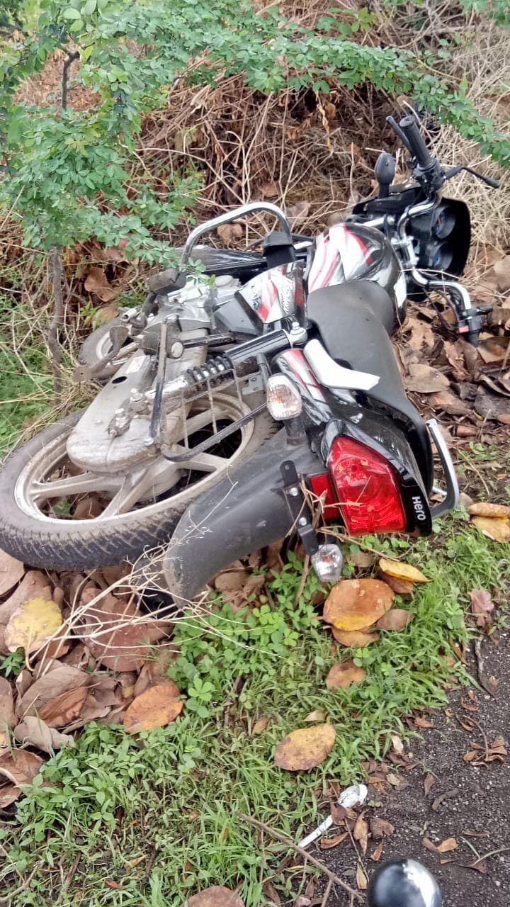 देवळा : रामेश्वर फाट्यानजीक ट्रॅक्टर-दुचाकी अपघातात दुचाकीस्वार ठार