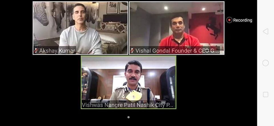 Nashik Police, Akshay Kumar launch online health system