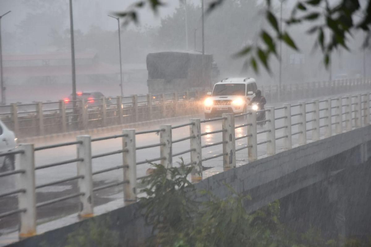 Heavy rains lash district; 101 mm rainfall recorded