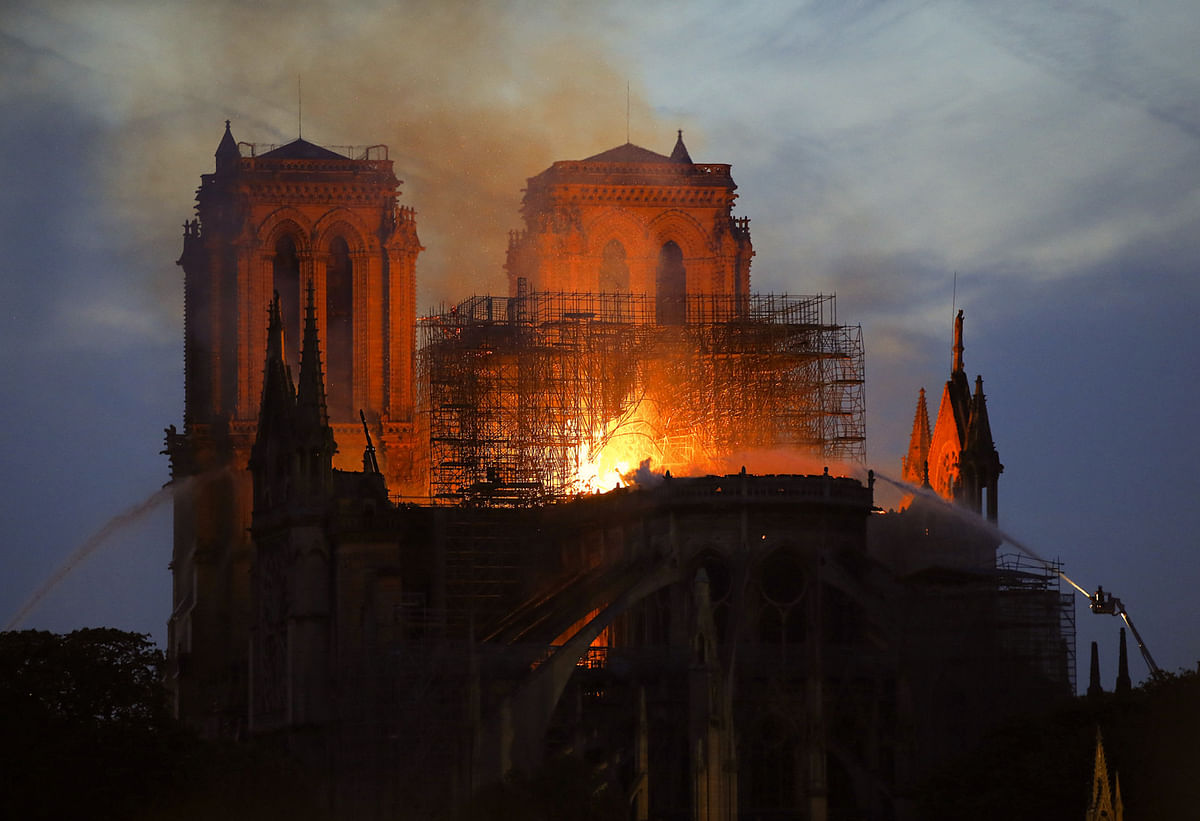 The Notre Dame Fire and the Hindu Civilisational Resilience: Europe on the Brink
