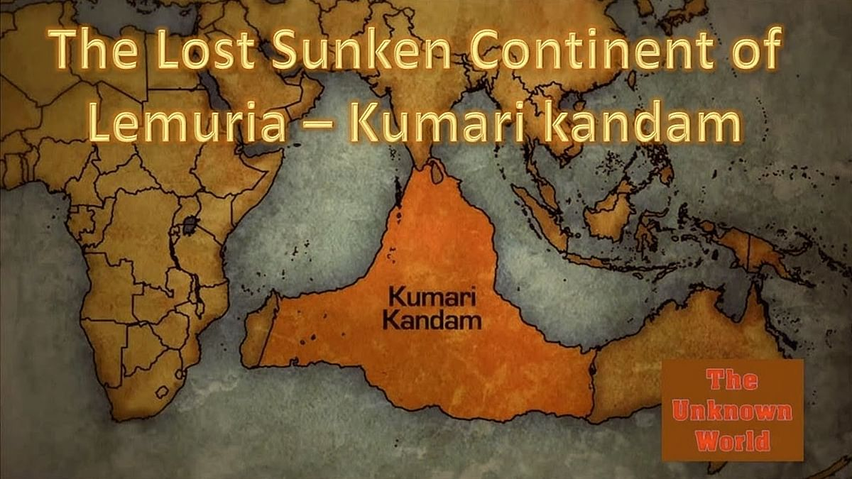 The Dravidian Lemuria Fantasy as History and the Invention of Kumarikandam as Geography