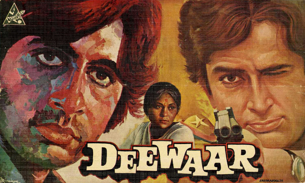 Deewaar: The Classic Cinematic Textbook Celebrating the Worst of Nehruvian Secularism and Communism: Part 1