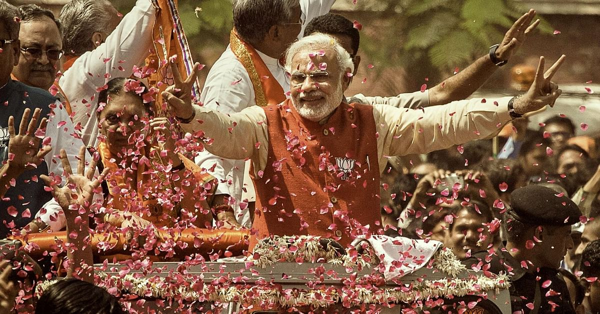 The Dharma Dispatch Endorses Narendra Modi as Prime Minister for a Second Term