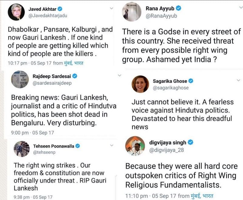 The Murder of Gauri Lankesh: Lawlessness in Karnataka