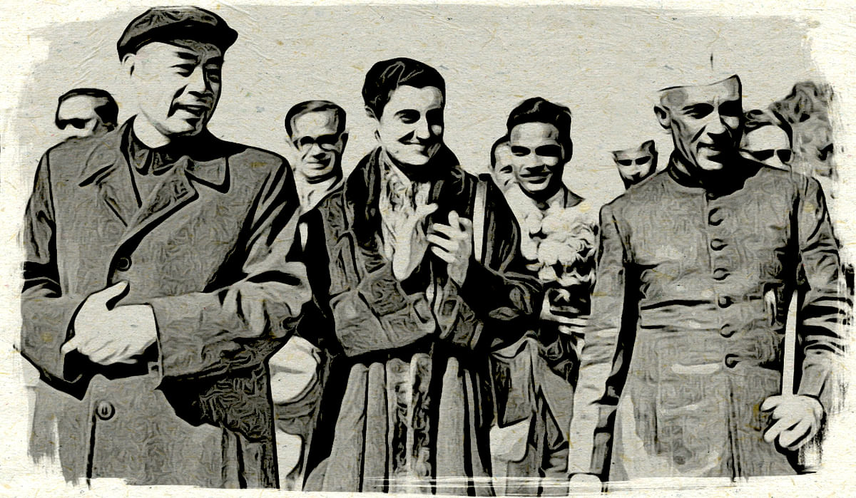 How Nehru's Courtship of China was Lubricated by Journalistic Oil Massages
