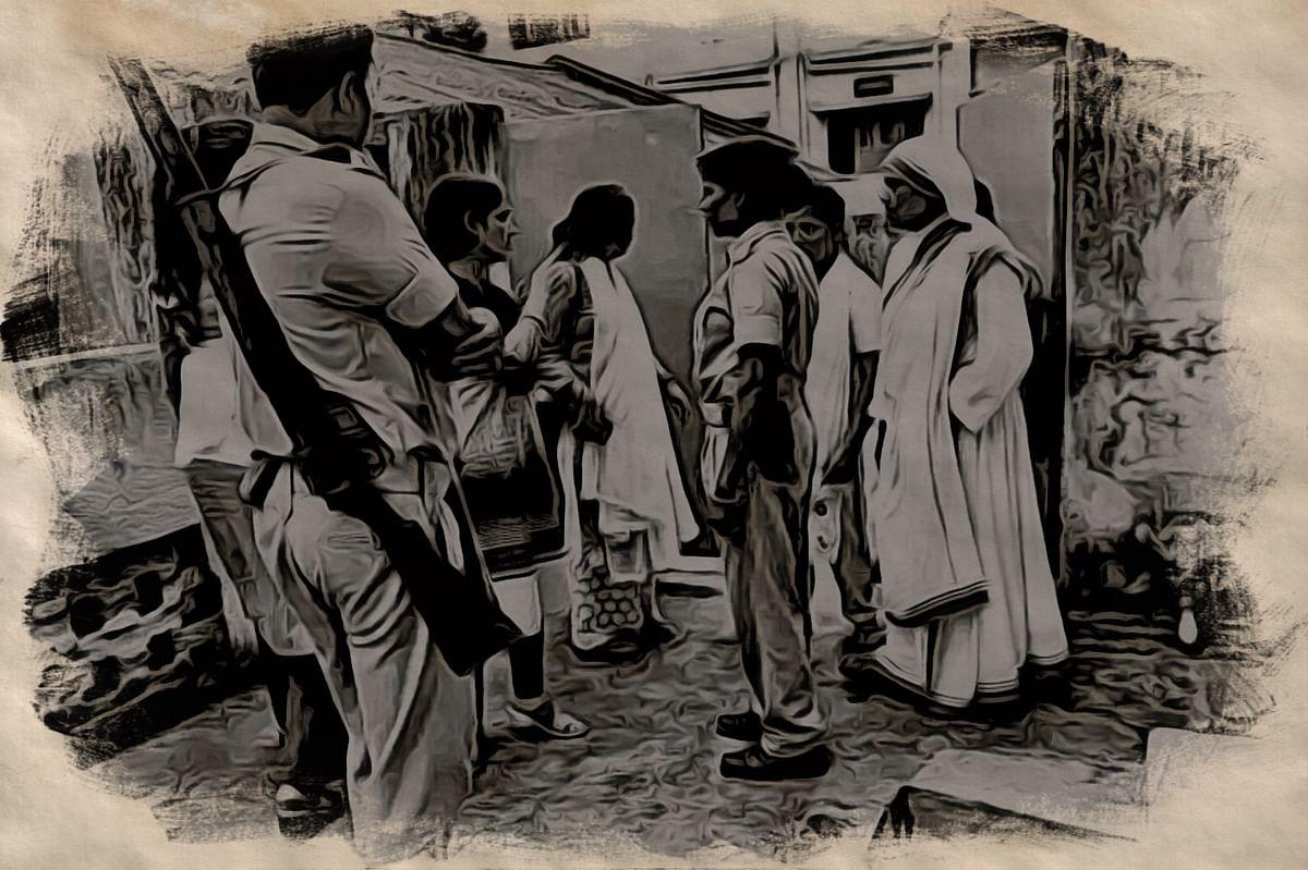 Police Questioning Nirmal Hriday Nuns
