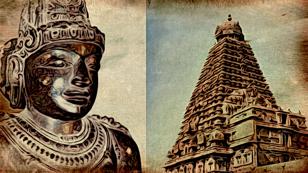 Śivapada Śekhara Rajaraja Chola Builds the Brihadeeshwara Temple: The First Stage