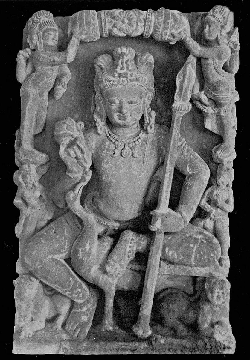 Skanda Sculpture: 6th Century CE