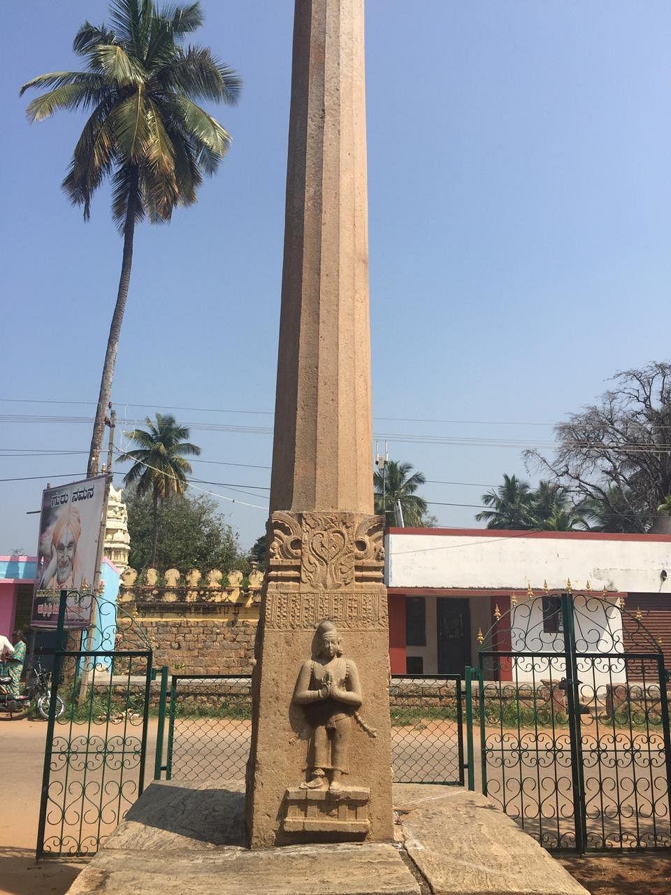 Dhwajasthamba of Sri Ranganatha Swamy Temple