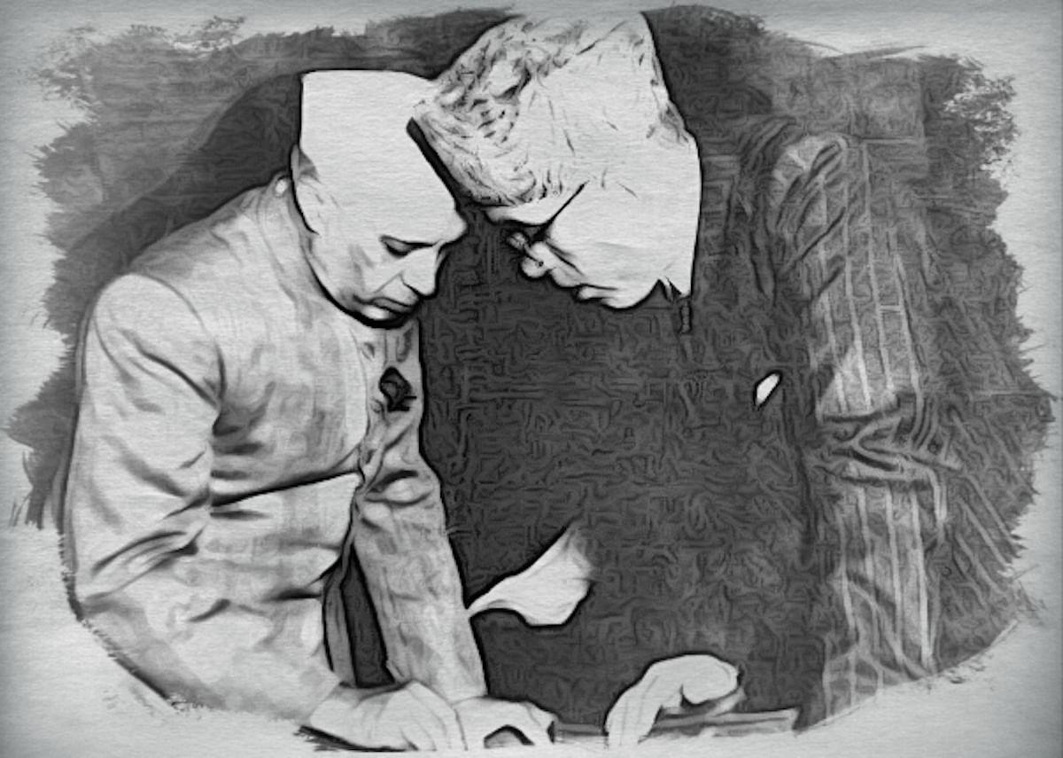Nehru and Sheikh Abdullah