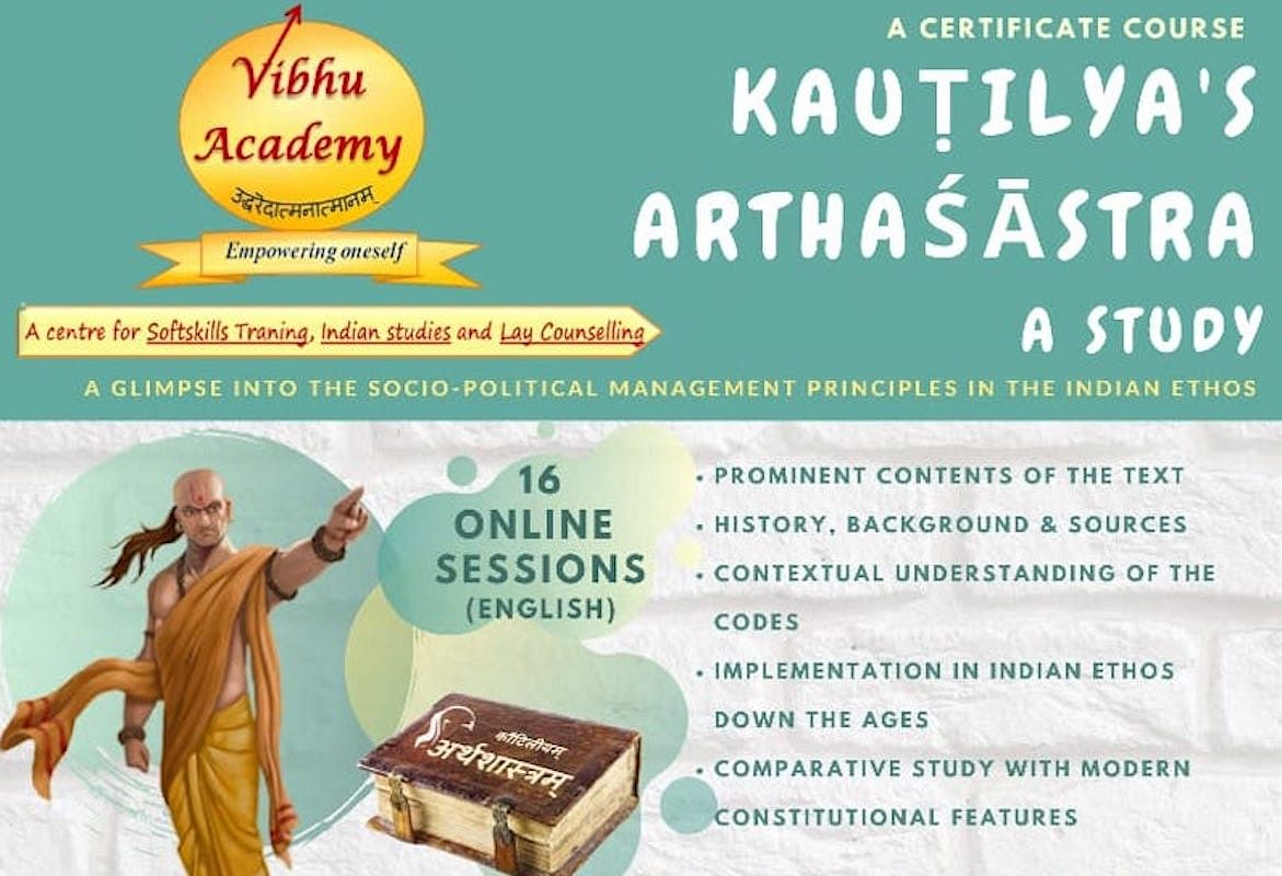 Certificate Course in Kautilya's Arthashastra by Vibhu Academy