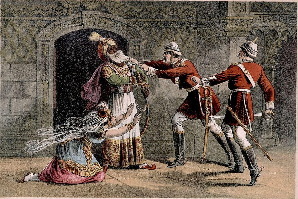 Capture of Bahadur Shah Zafar