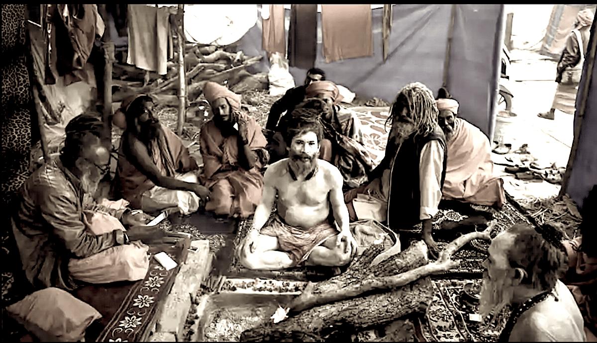 An Akhada at the Kumbha Mela