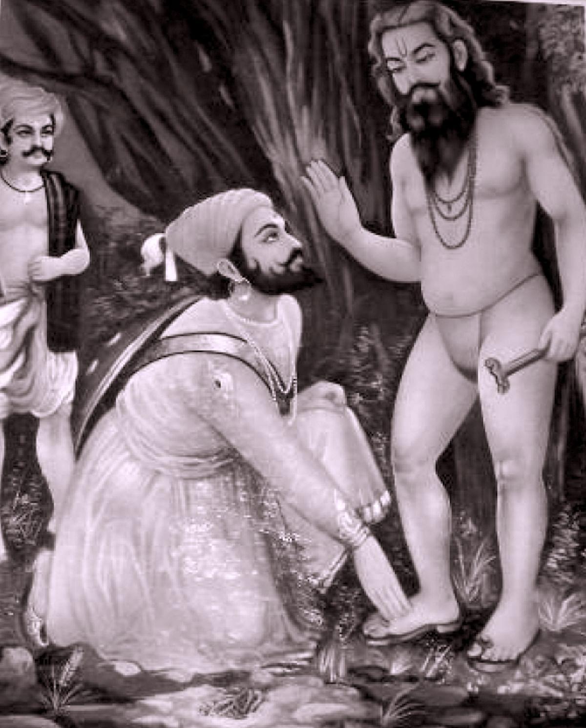 Shivaji and Swami Ramdas