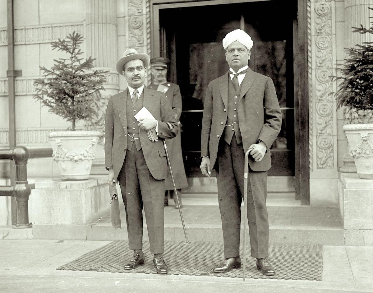 V.S. Srinivasa Sastri in London