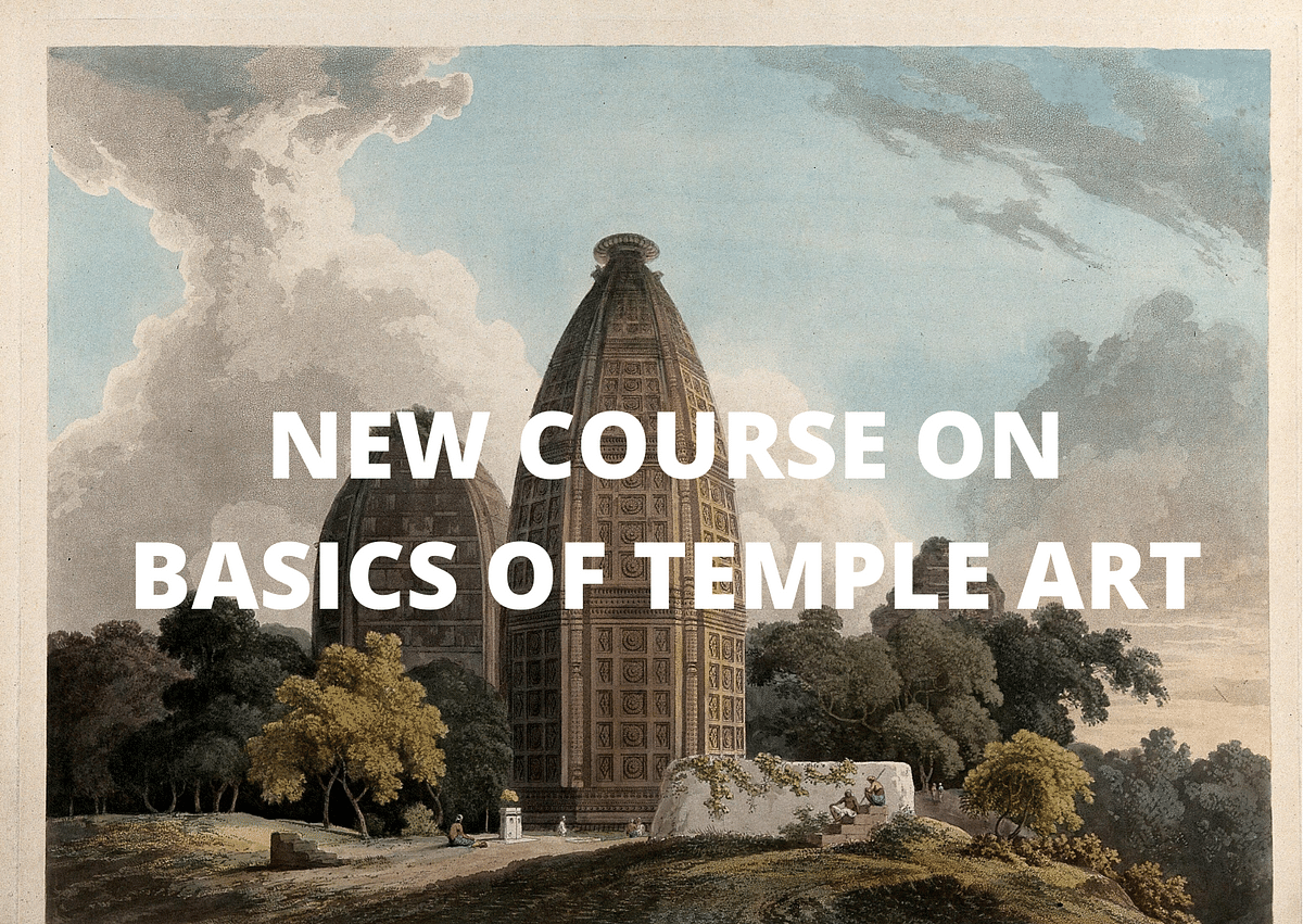 Basics of Temple Art and Drawing: Announcing a New Course