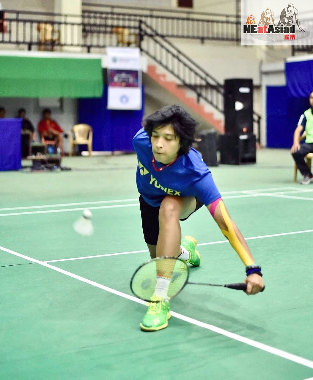 According to her coach Edwin Iriawan, Ashmita is special because she is a lefty.