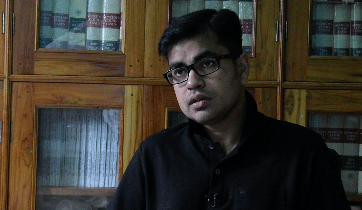 Aman Wadud, a legal expert, during a conversation with <i>EastMojo</i>