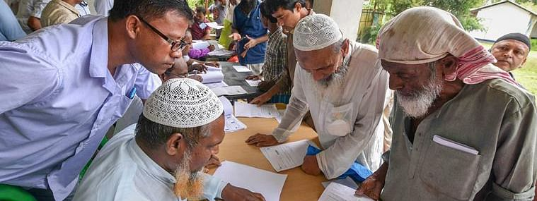 The deadline of the final publication of NRC in Assam is August 31