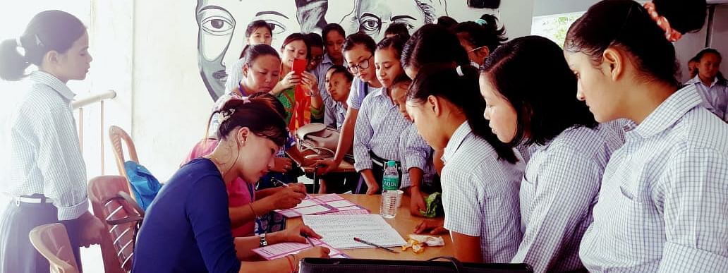 HPV vaccination programme in progress
