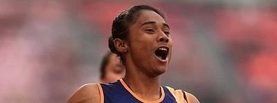 All eyes are on 'golden girl' Hima Das