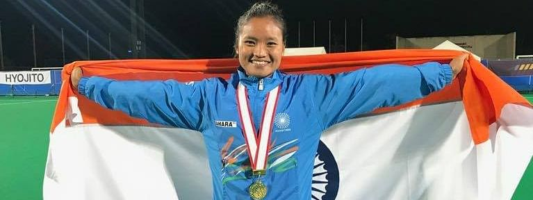 Lalremsiami was one of the four Indian players to score a hat-trick each against Kazakhstan in the Pool B match at the Asian Games on Tuesday. India thrashed Kazakhstan 21-0
