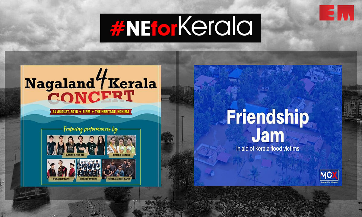 NE musicians lend a helping hand to flood-hit Kerala