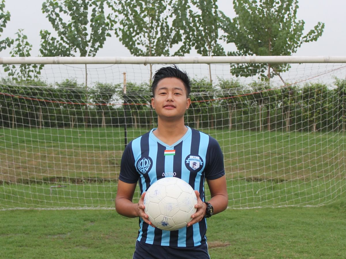 Naga footballer continues dream run to join top I-League club
