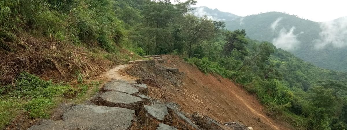 Every monsoon, the remote Kiphire district of Nagaland remains cut off from the rest of the country for days and months at end