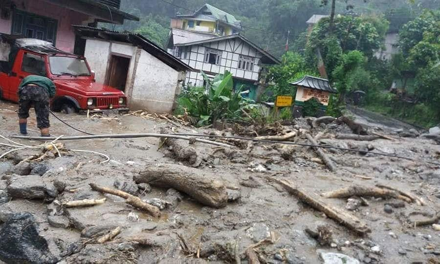 Rains, fresh landslides wreak havoc in North Sikkim