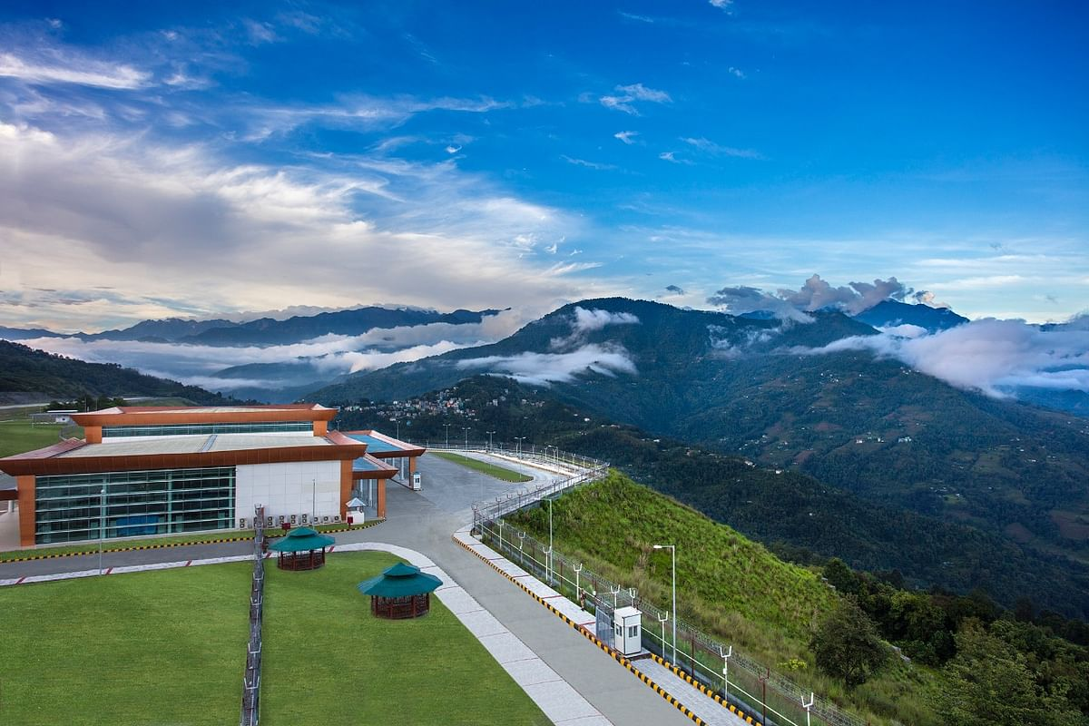 The Himalayan state of Sikkim is all set to get its first airport.