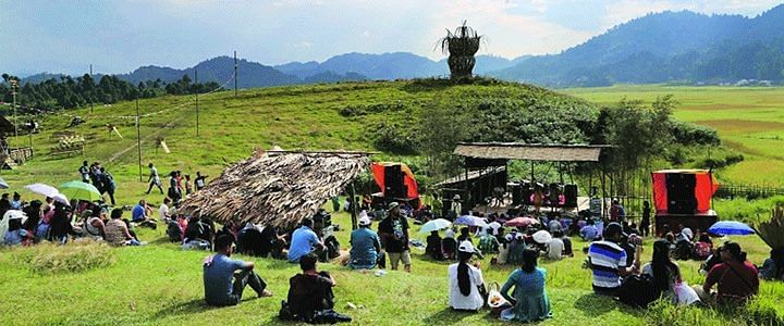 India's biggest outdoor music festival at Ziro in Arunachal Pradesh will grow seven years old in less than a week's time