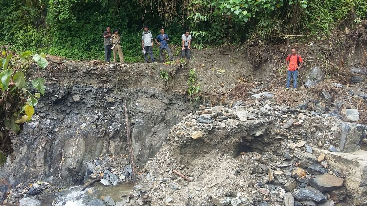 Due to heavy landslides, several areas have been cut off from the rest of the country