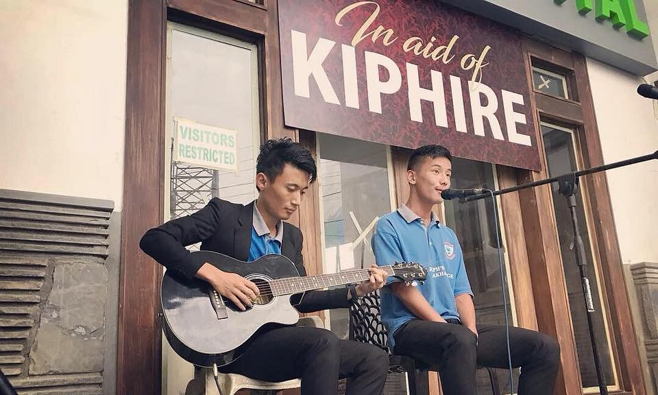 Musicians come together for rain-hit Kiphire district of Nagaland