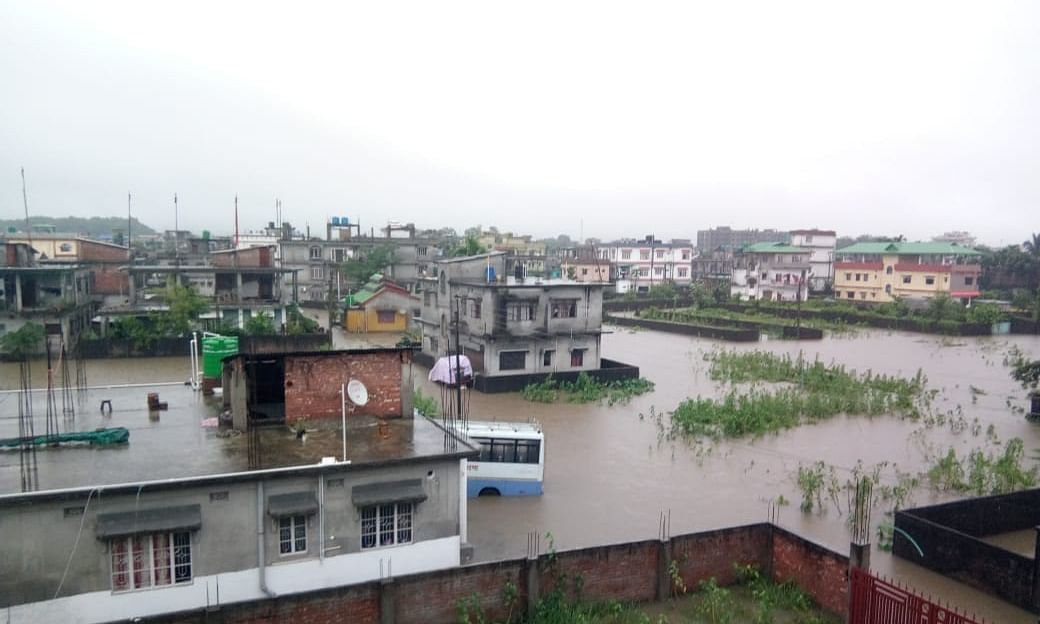 1 killed, several areas inundated in rain-hit Siliguri, Jalpaiguri