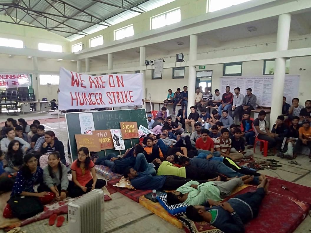Promised the moon, NIT Sikkim students now a deprived lot