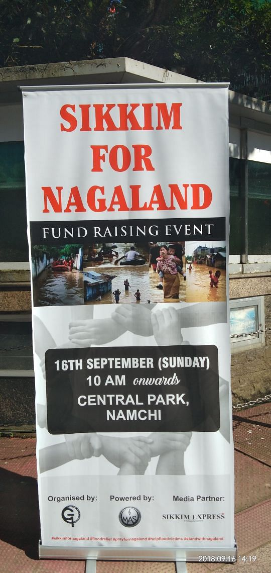 The 'Sikkim for Nagaland' campaign was held at the Central Park in Namchi on Sunday