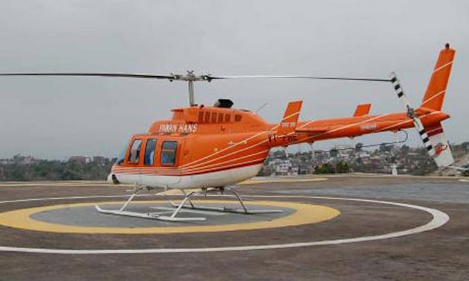 Tripura: Chopper ride to give bird's eye view of city during Puja