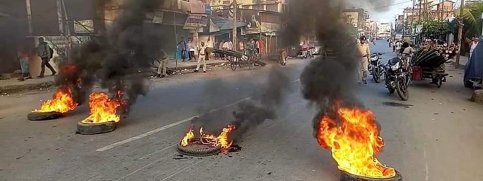 Normal life was paralysed during the 12-hour bandh in Assam that was called in protest against the Citizenship (Amendment) Bill, 2106