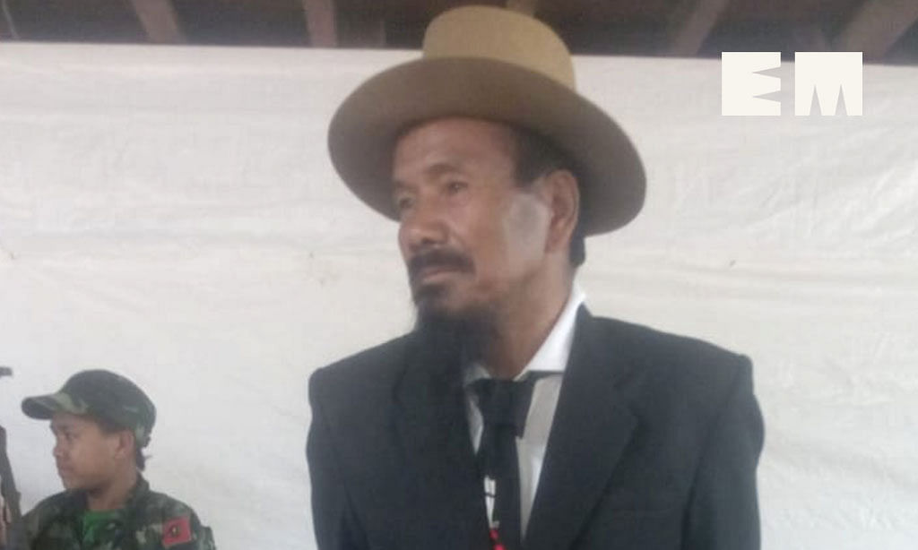 File photo of NSCN-K leader Khango Konyak
