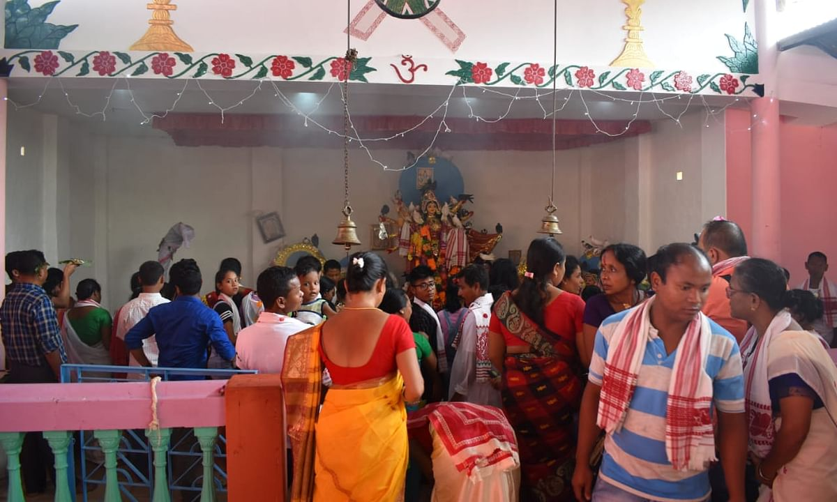 Why this 500-yr-old Assam temple is thronged by thousands on puja