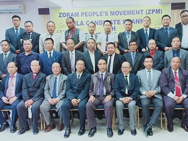 Mizoram: MPC severs ties with Zoram People's Movement