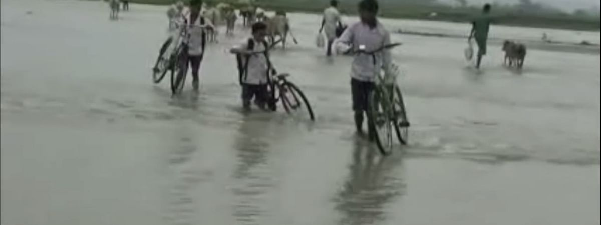 The situation worsens when the Ranganadi river swells during monsoons
