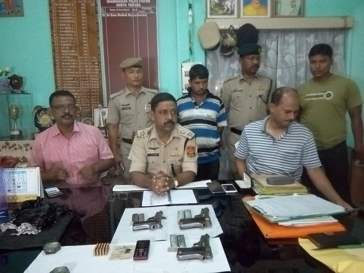 Tripura panchayat by-polls: Arms recovered on vote-counting day
