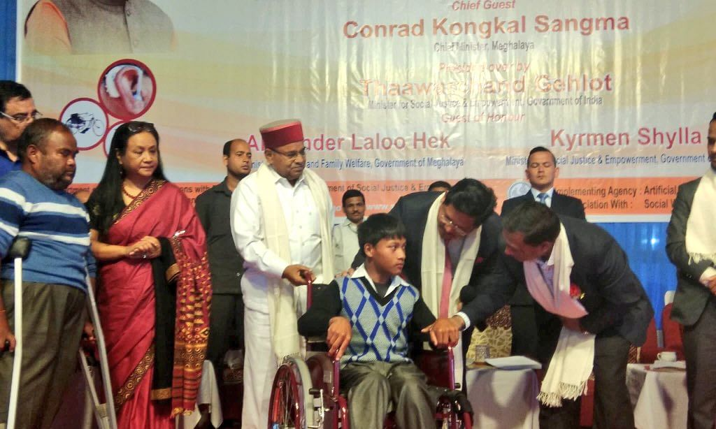 Meghalaya to get sports stadium for the differently-abled