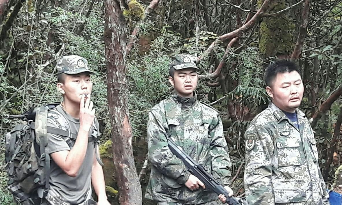 Chinese PLA men allegedly roaming 14 kilometres inside Indian territory near Dibang river in Arunachal Pradesh